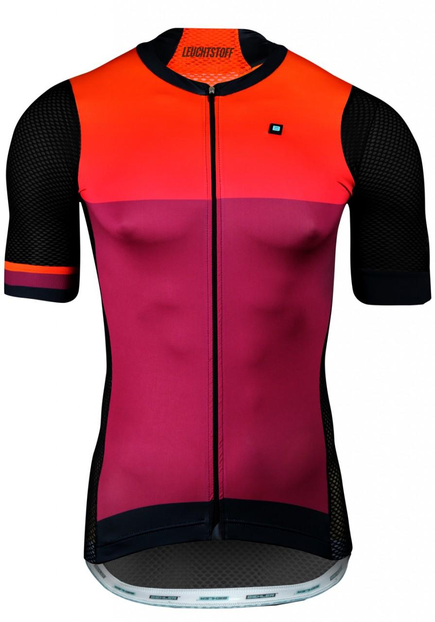 6934e7342 MEN PRO TEAM CYCLING JERSEY LEUCHTSTOFF