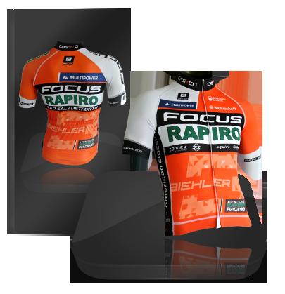 Trikot: Rapiro Racing Radtrikot